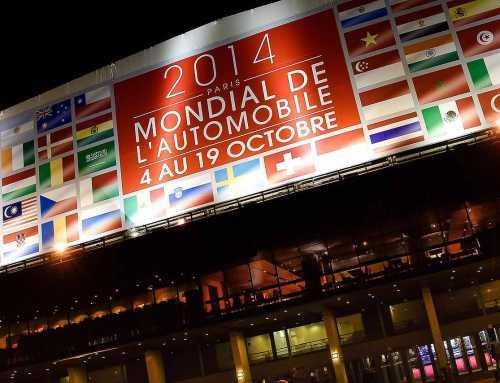 Paris Motor Show 2014 in numbers (of steps)