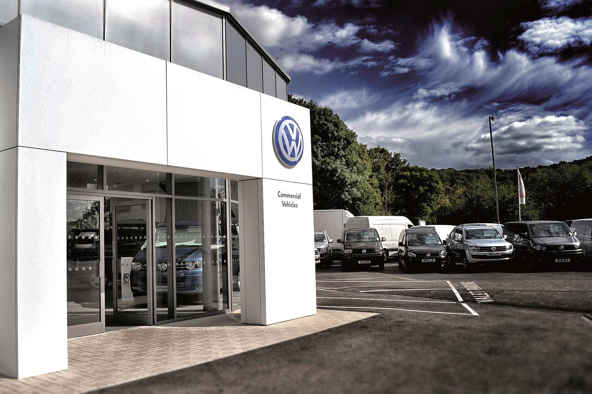 Volkswagen van centre