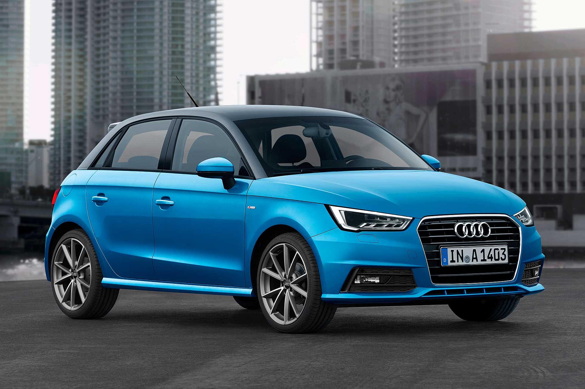 Audi A1 2015 facelift