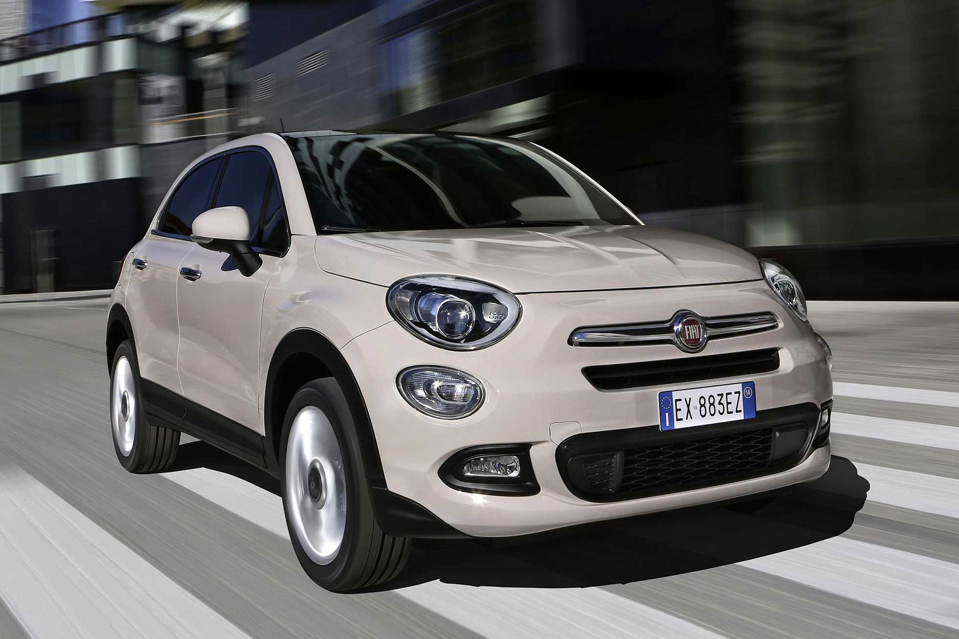 fiat 500x crossover priced from 14 595 in uk motoring research. Black Bedroom Furniture Sets. Home Design Ideas