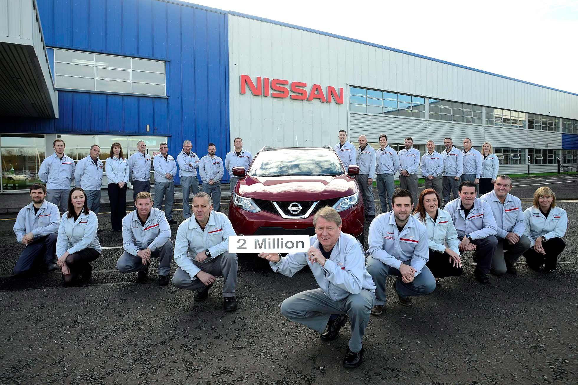 Nissan Qashqai hits 2 million