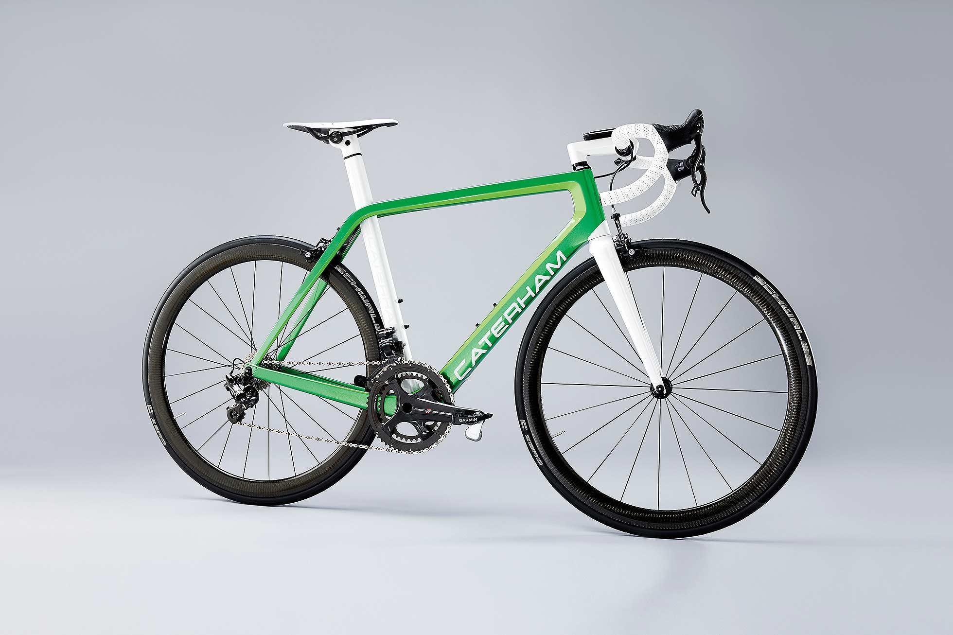 Caterham launches new range of bicycles