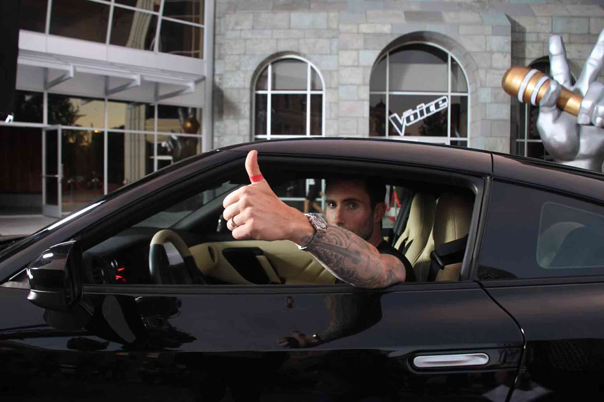 Nissan and Adam Levine