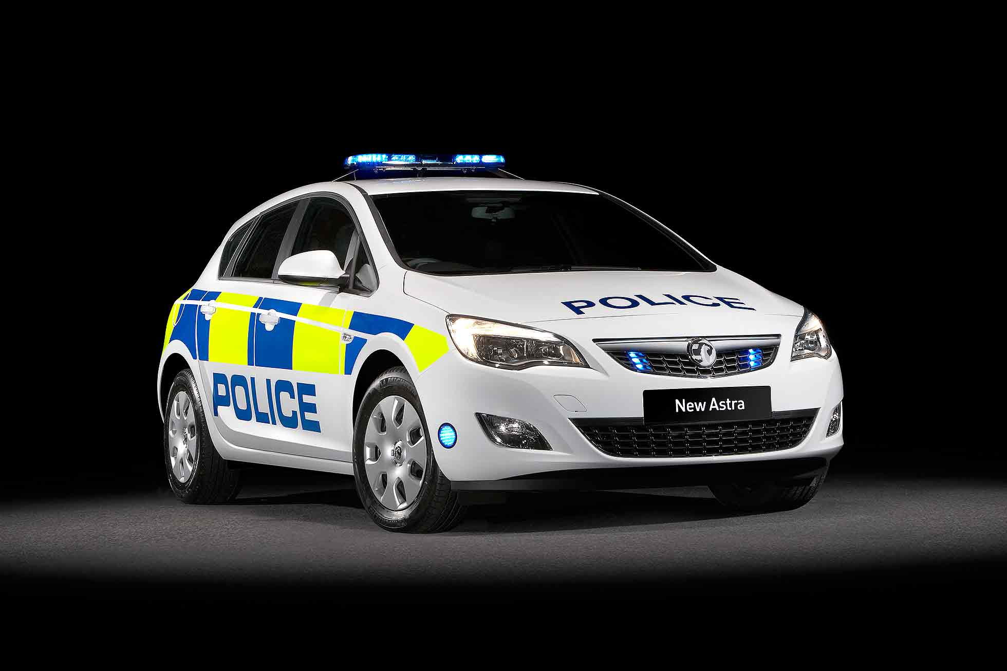 Police Vauxhall Astra