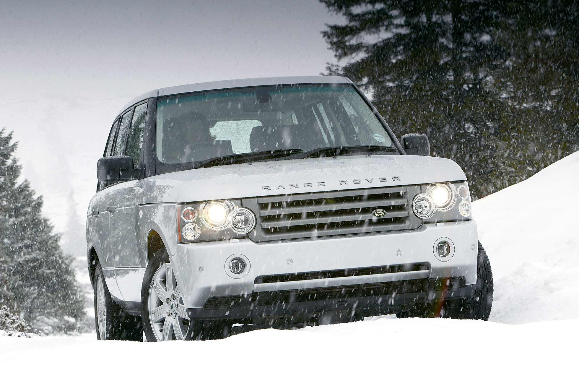 Range Rover values to rise when the snow falls