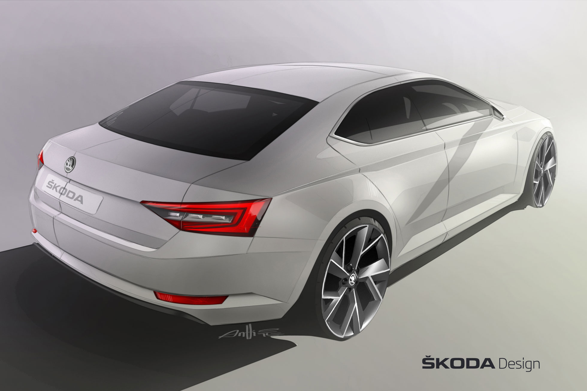 2015 Skoda Superb teased ahead of Geneva Motor Show debut