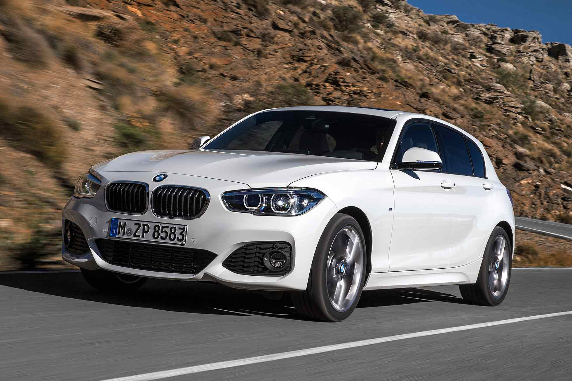 Pretty One BMW Reveals Series Facelift Motoring Research - Bmw 1 series 2015