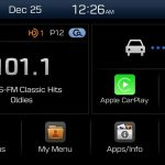 Apple CarPlay integration via Hyundai Display Audio