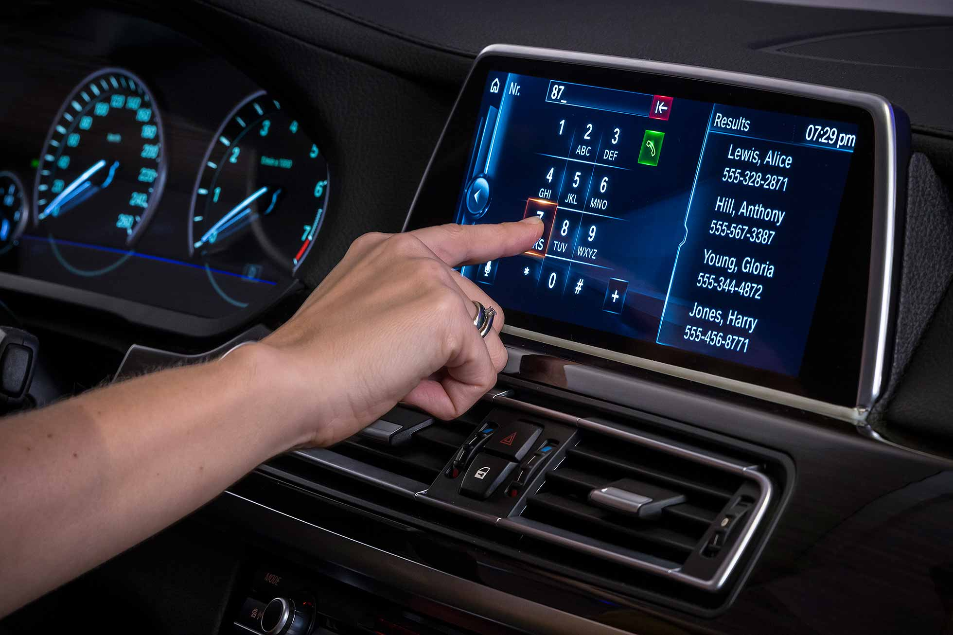 bmw commits to touchscreen for future idrive motoring. Black Bedroom Furniture Sets. Home Design Ideas