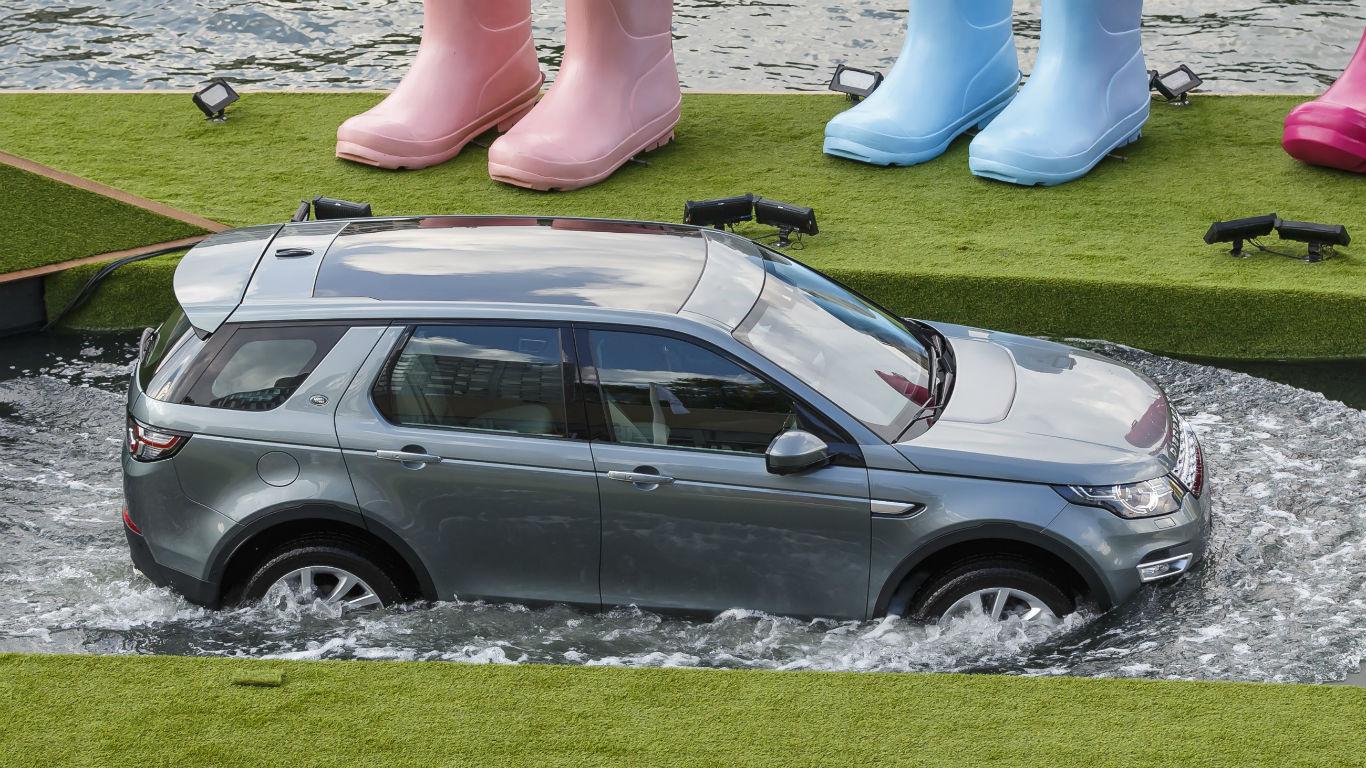 1,200 Jaguar Land Rovers stuck on stranded ship