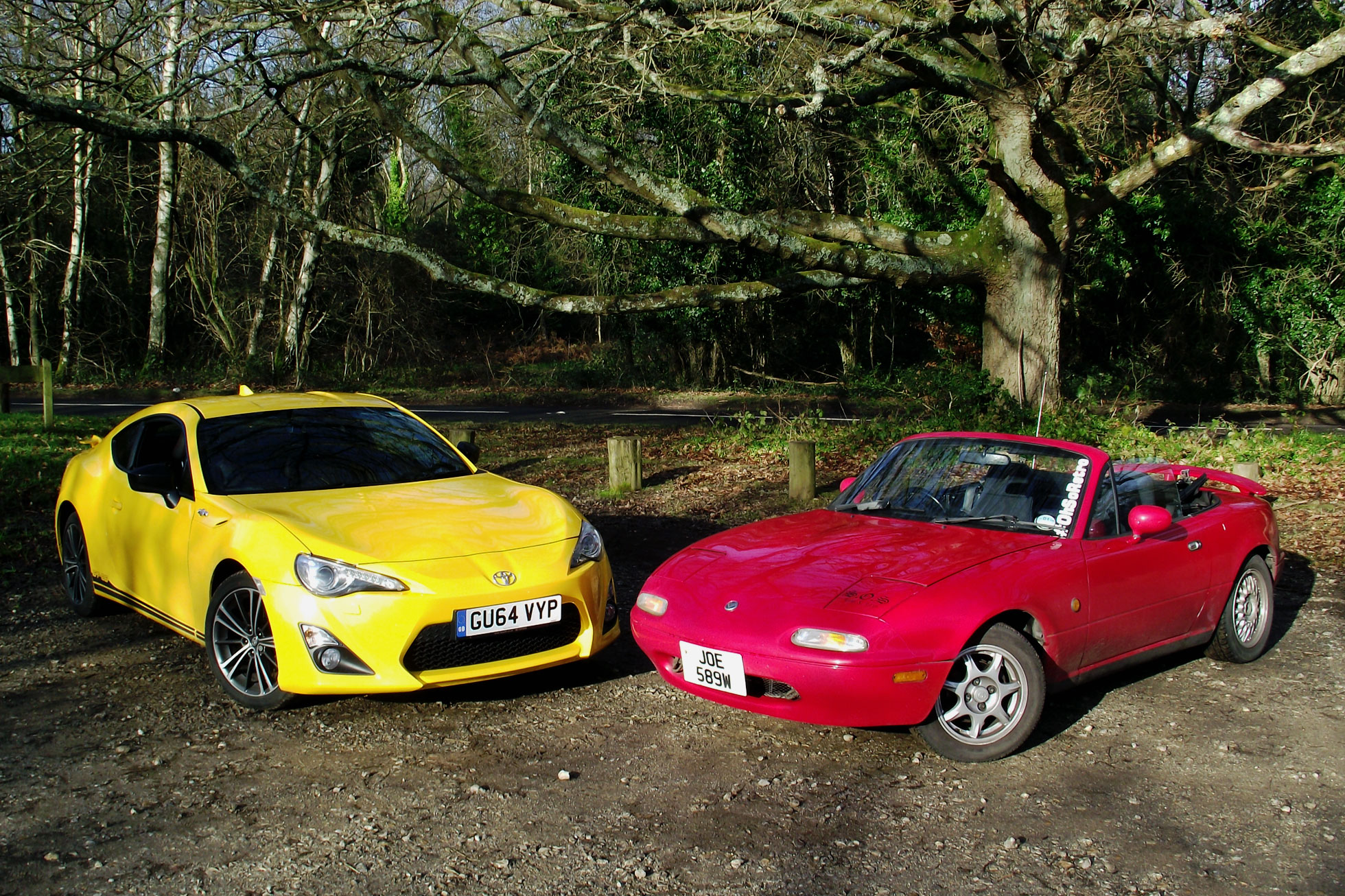 We took a pair of Japanese sports cars to the hills and it was ace