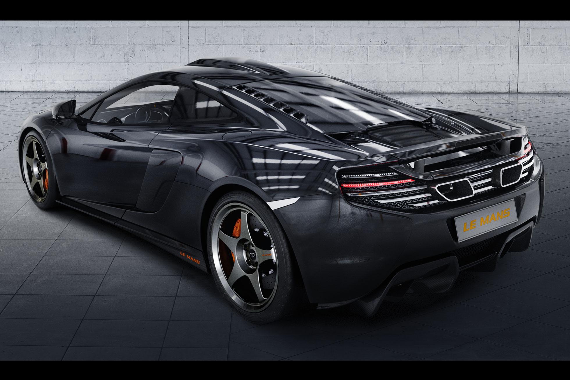 McLaren reveals 650S Le Mans limited edition