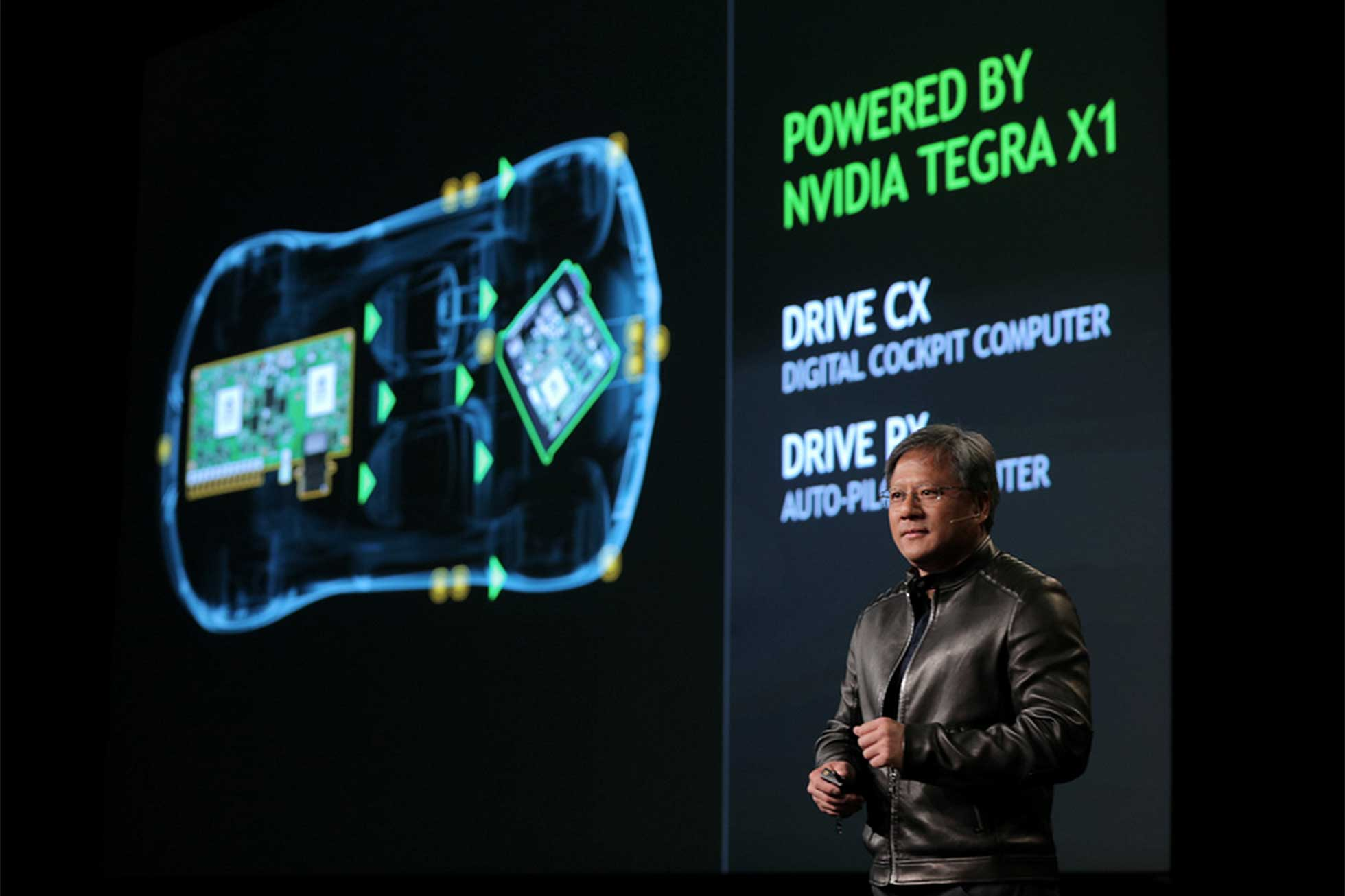 Nvidia launches Drive tech at CES 2015