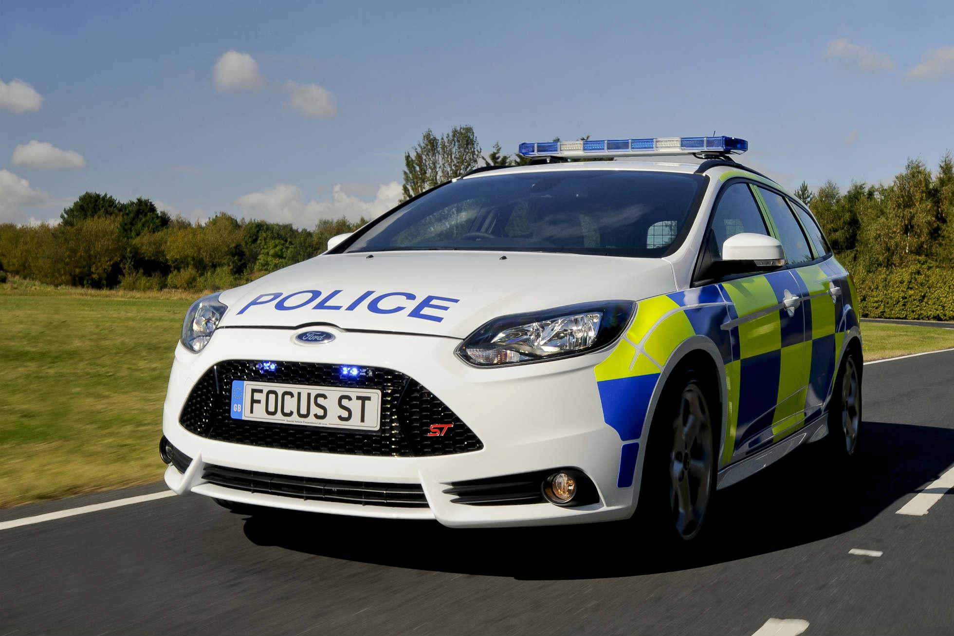 Speeding traffic cops caught on camera at 130mph