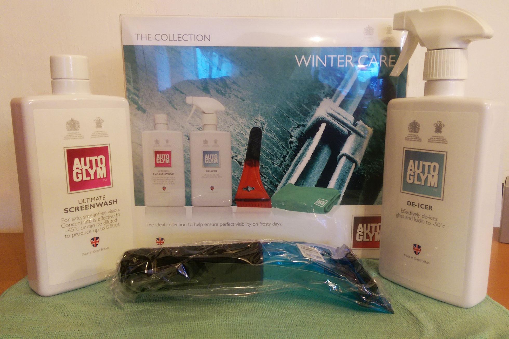 Win an Autoglym winter care kit