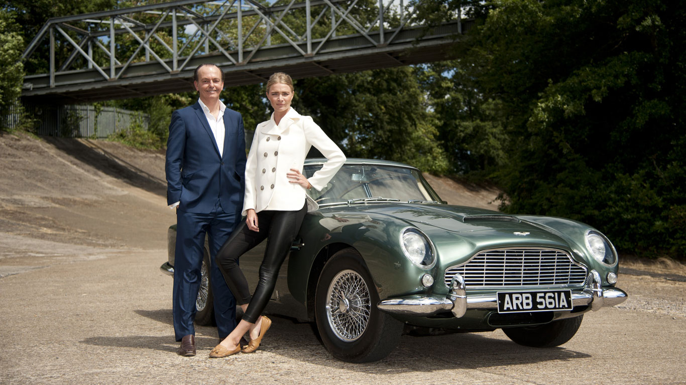 Quentin Willson And Jodie Kidd To Present New Channel Classic - Cool cars quentin willson