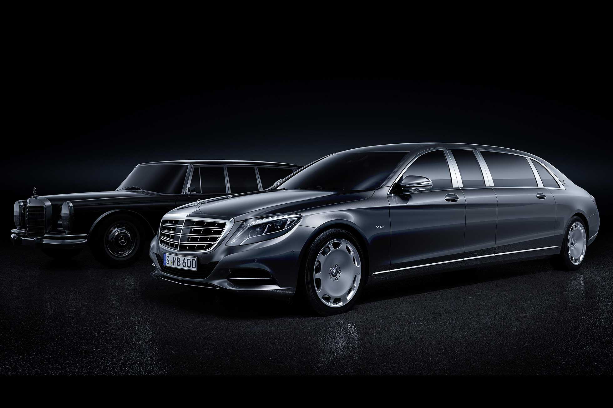 Mercedes-Maybach Pullman 2016