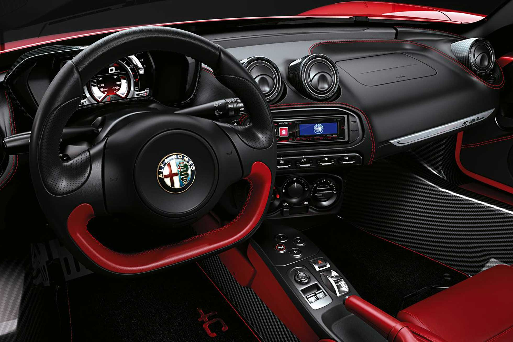 Alfa Romeo 4c Spider To Debut At 2015 Geneva Motor Show Motoring