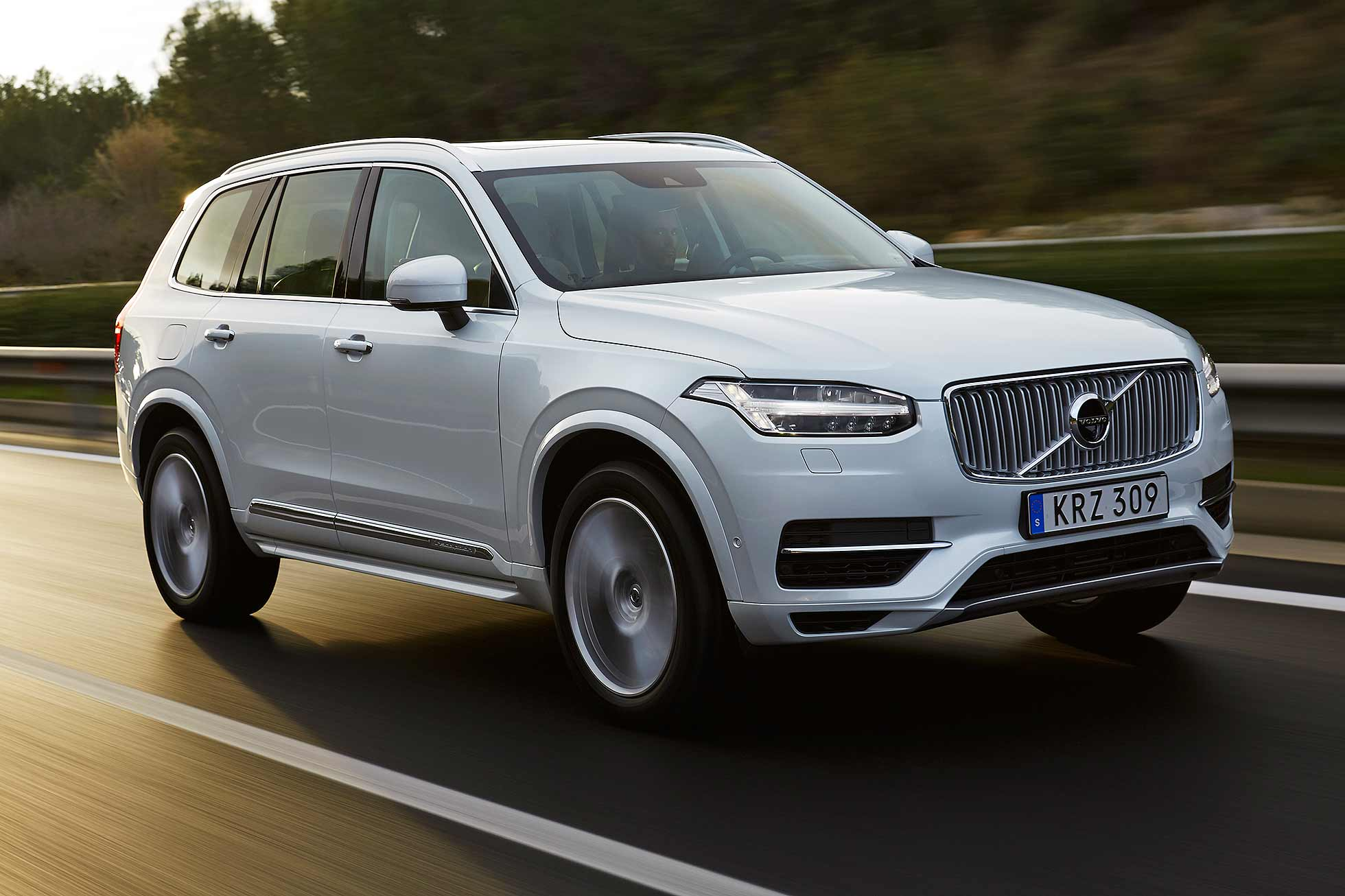 volvo xc90 review: 2015 first drive