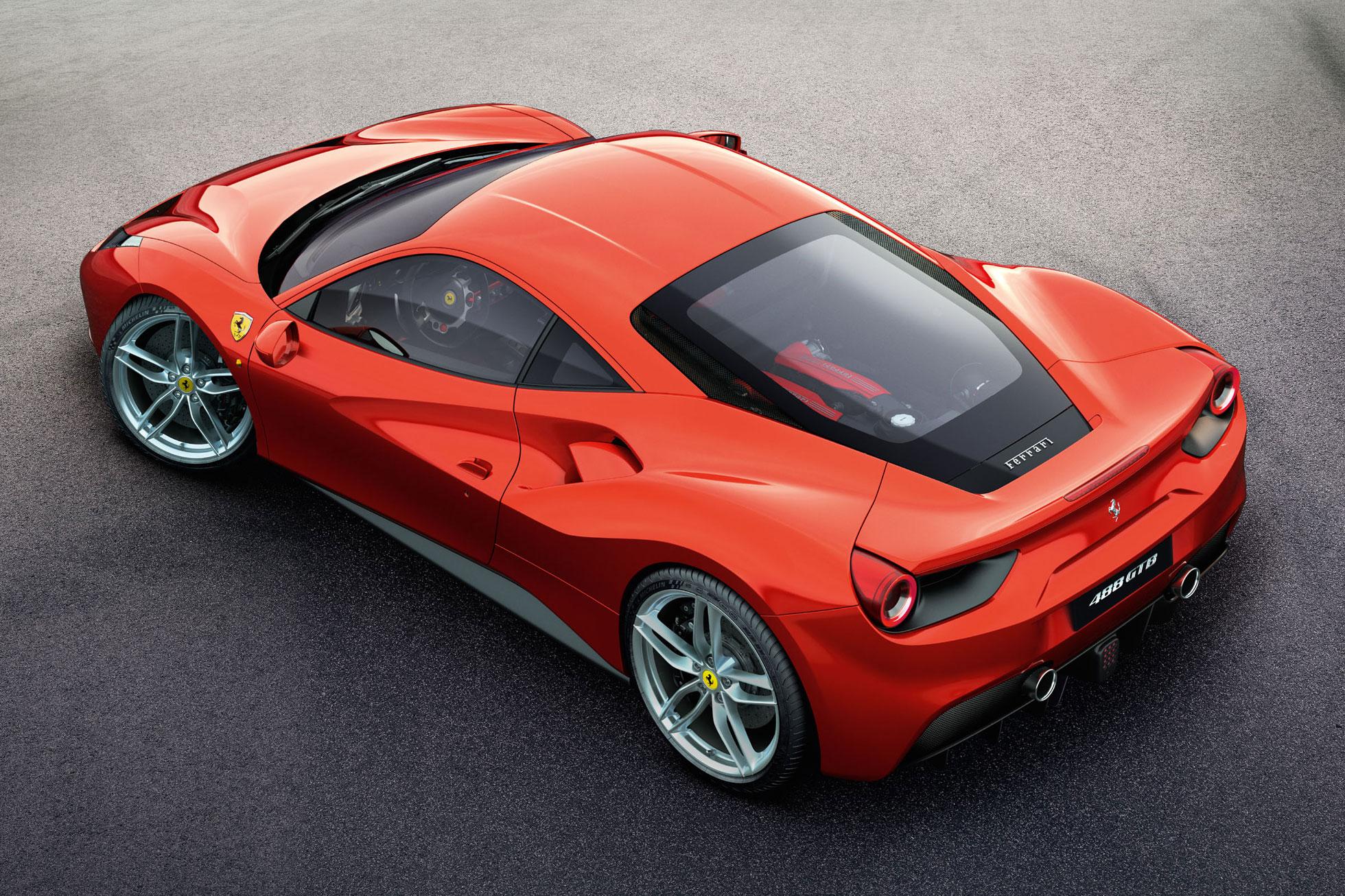 Ferrari reveals turbocharged 488 GTB ahead of Geneva Motor Show debut