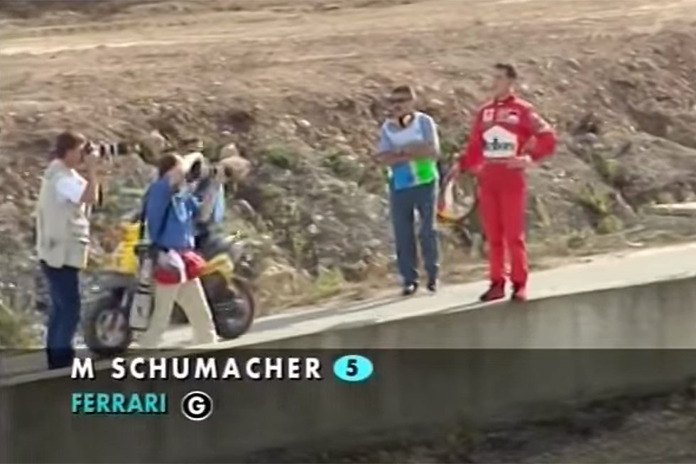 Michael Schumacher, Jerez, 1997