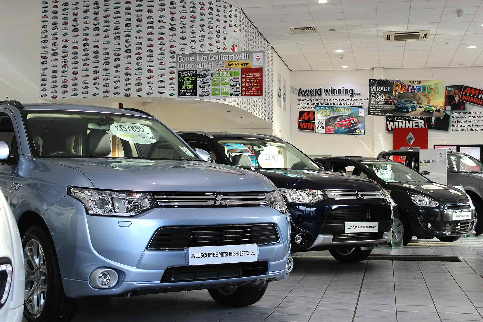 Mitsubishi car dealer
