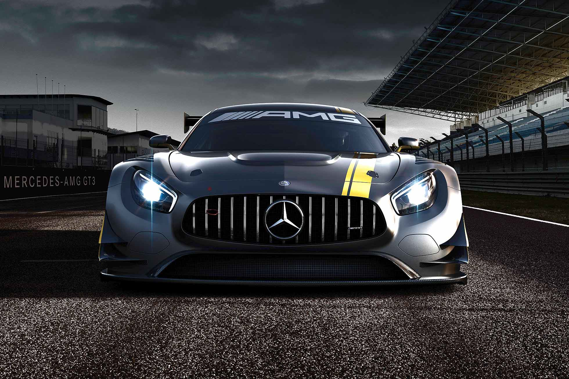 first look at mercedes amg gt3 racer motoring research. Black Bedroom Furniture Sets. Home Design Ideas