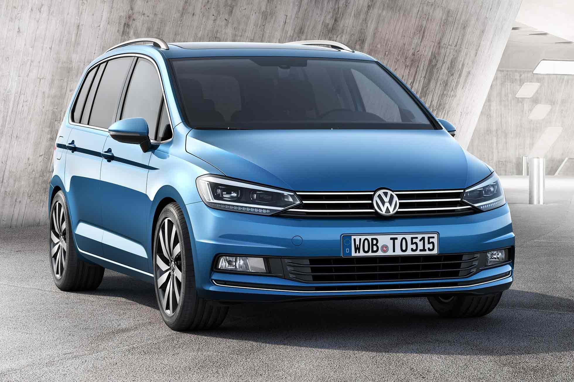 New Volkswagen Touran