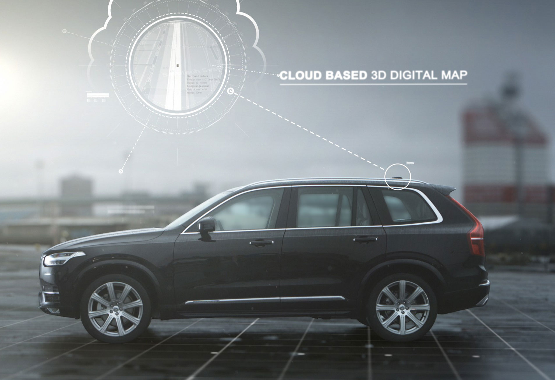 Self-driving Volvo XC90 could be in dealerships by 2020