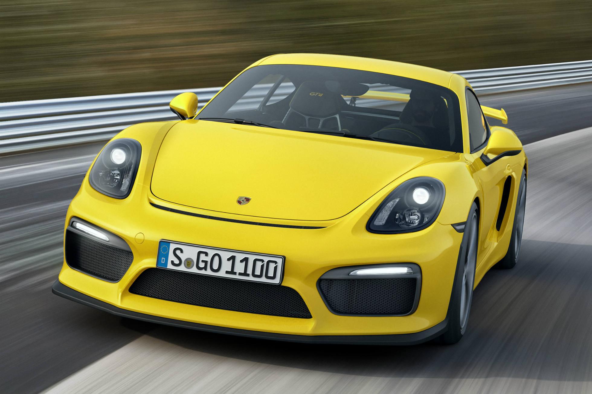 Porsche reveals Cayman GT4 ahead of Geneva Motor Show