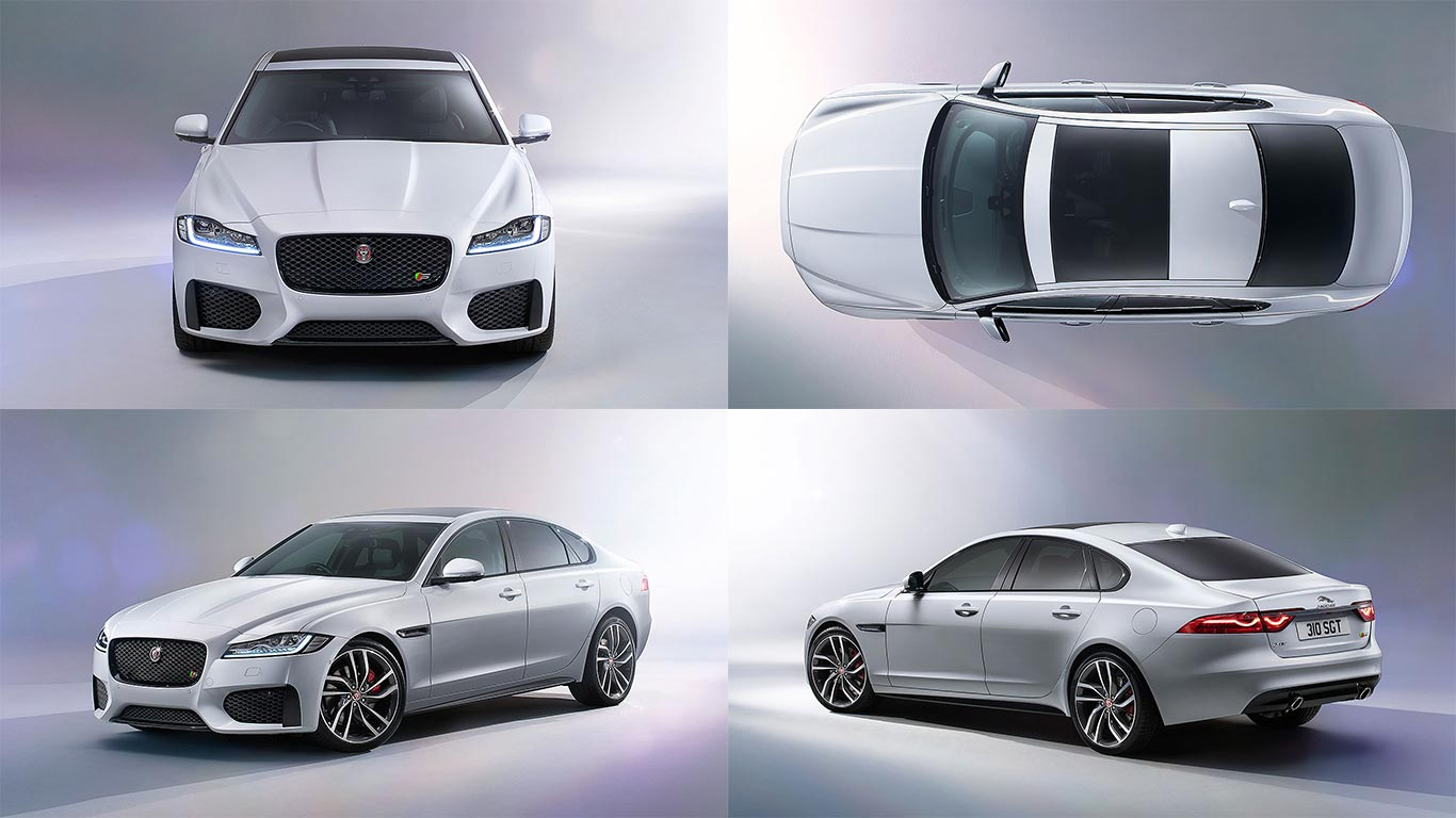 jaguar reveals all new 2015 xf saloon motoring research. Black Bedroom Furniture Sets. Home Design Ideas