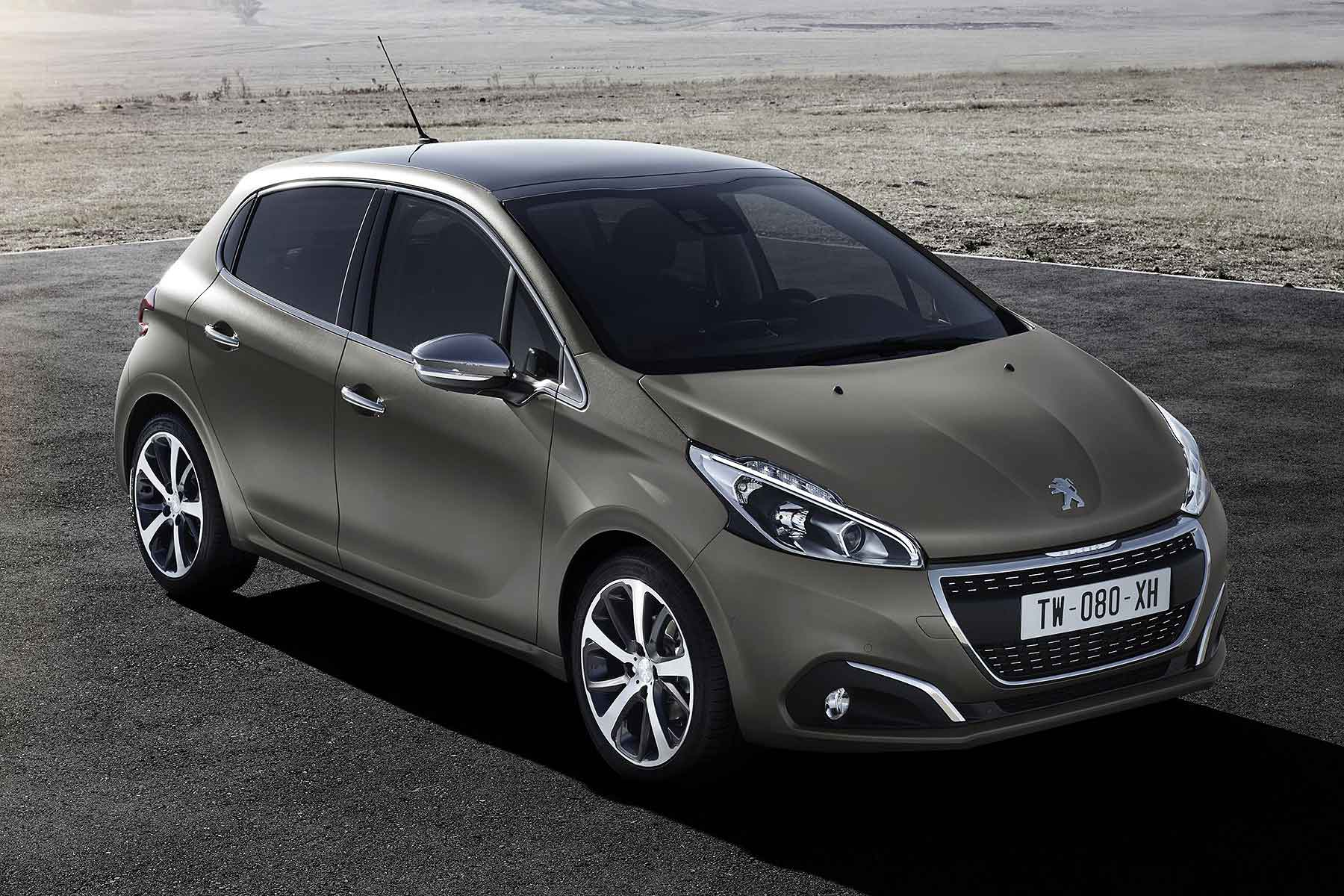 peugeot 208 in textured paint finish first motoring research. Black Bedroom Furniture Sets. Home Design Ideas
