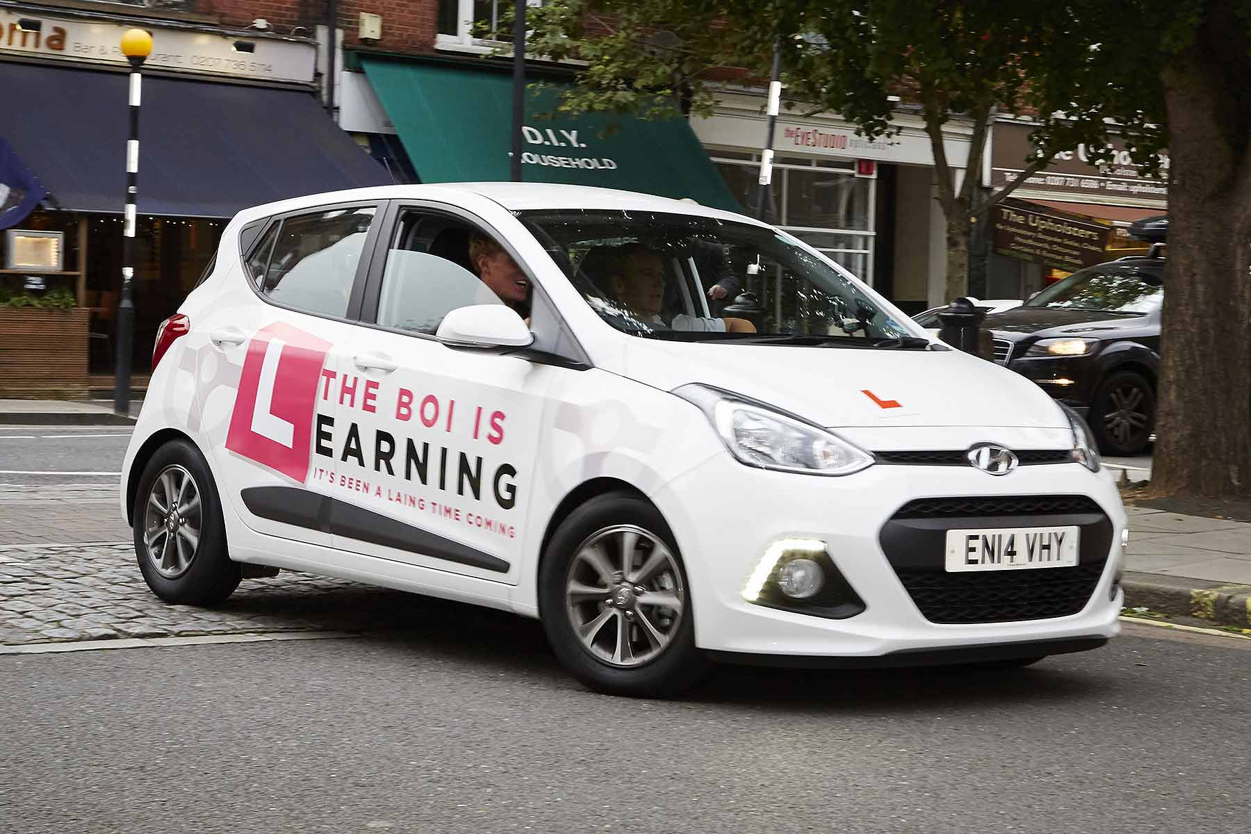 Hyundai learner driver