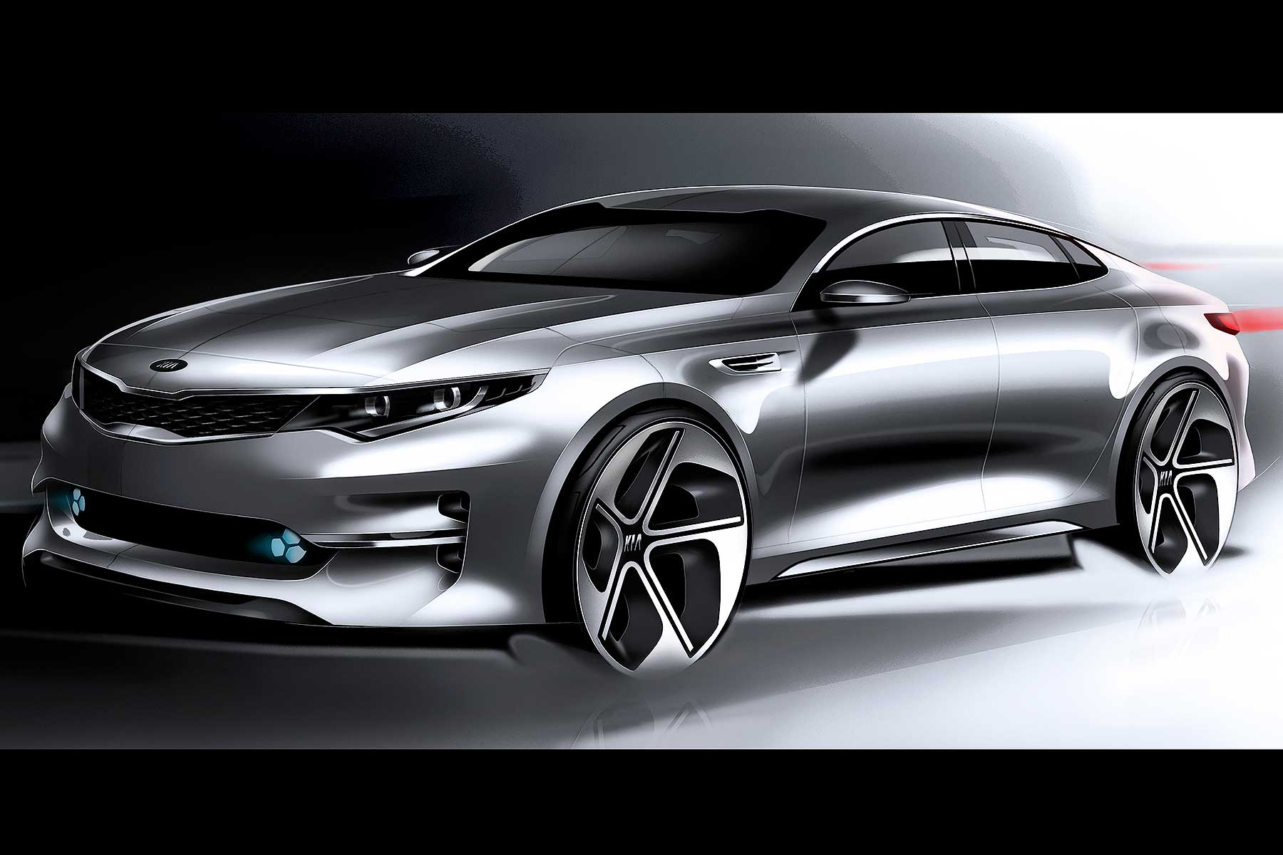 The New Kia Optima Will Make Its World Debut At The 2015 New York Motor  Show U2013 Five Years After The Original Car Was Revealed There.