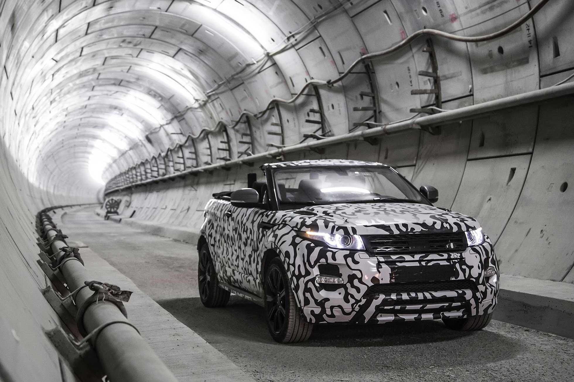 Range Rover Evoque Convertible Crossrail