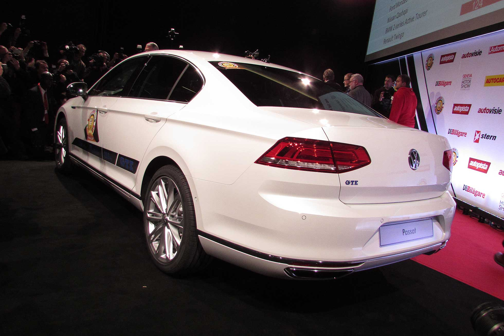 Volkswagen Passat Car of the Year 2015