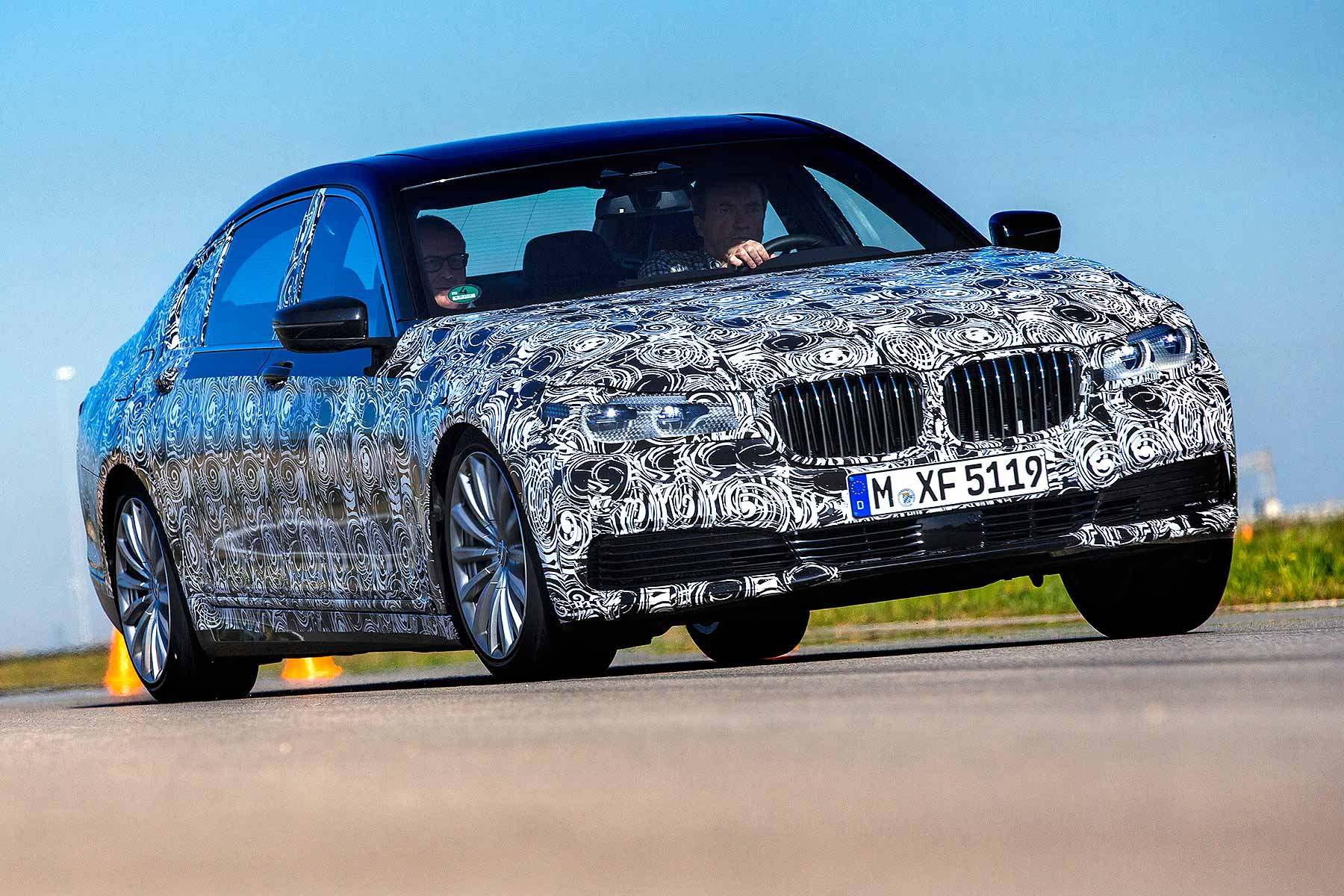 BMW 7 Series prototype review 2015