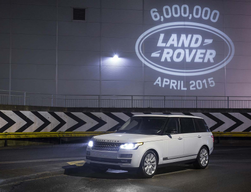 Land Rover builds its 6 millionth vehicle