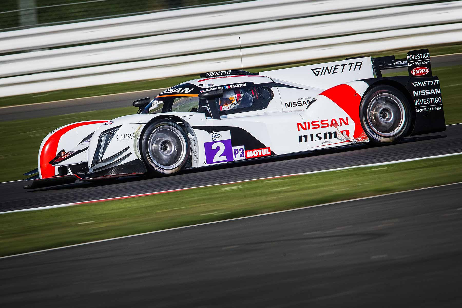 Nissan Sir Chris Hoy LMP3