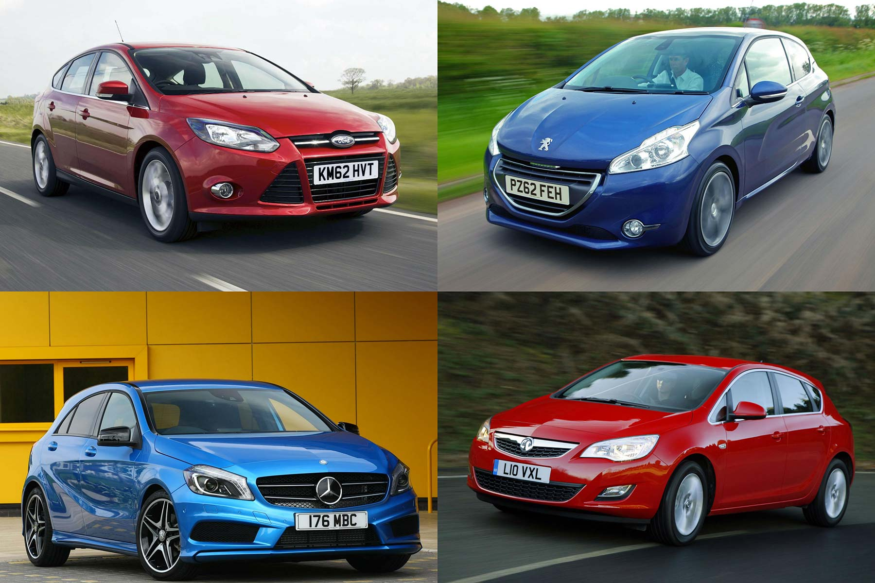 Fastest selling cars by region