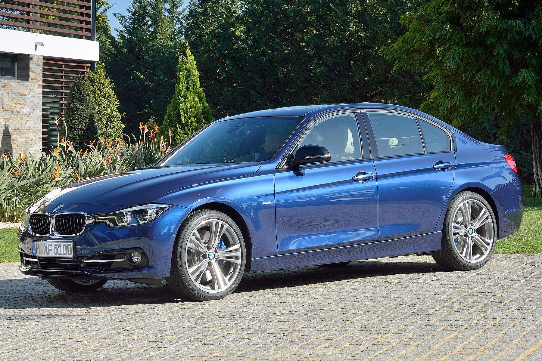 2015 BMW 3-Series facelift LCI