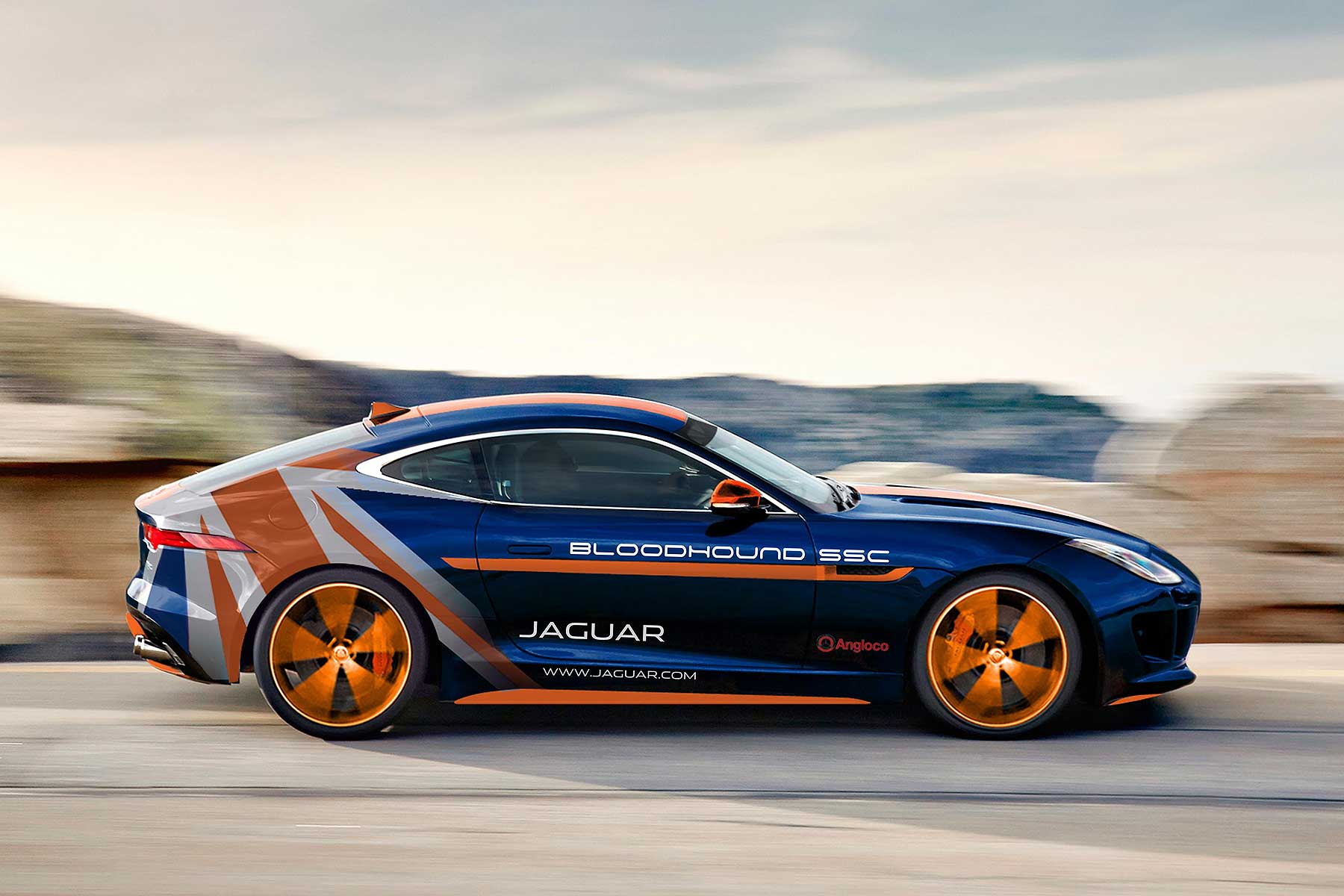 Jaguar F-TYPE Bloodhound SSC