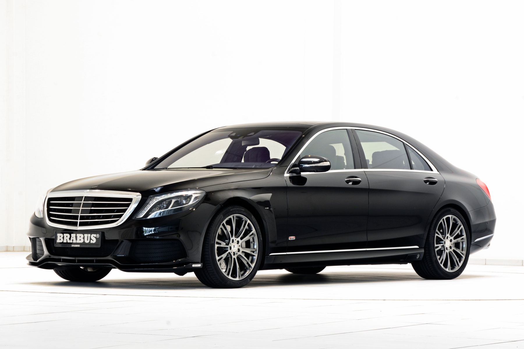 Brabus reveals 500hp Mercedes S-Class Plug-in Hybrid