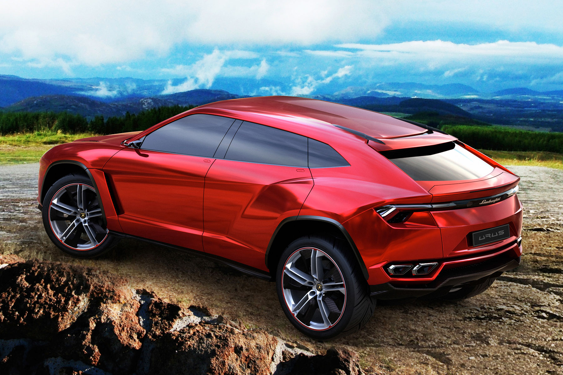 New Lamborghini SUV likely to share a platform with Audi Q7 and Bentley Bentayga.
