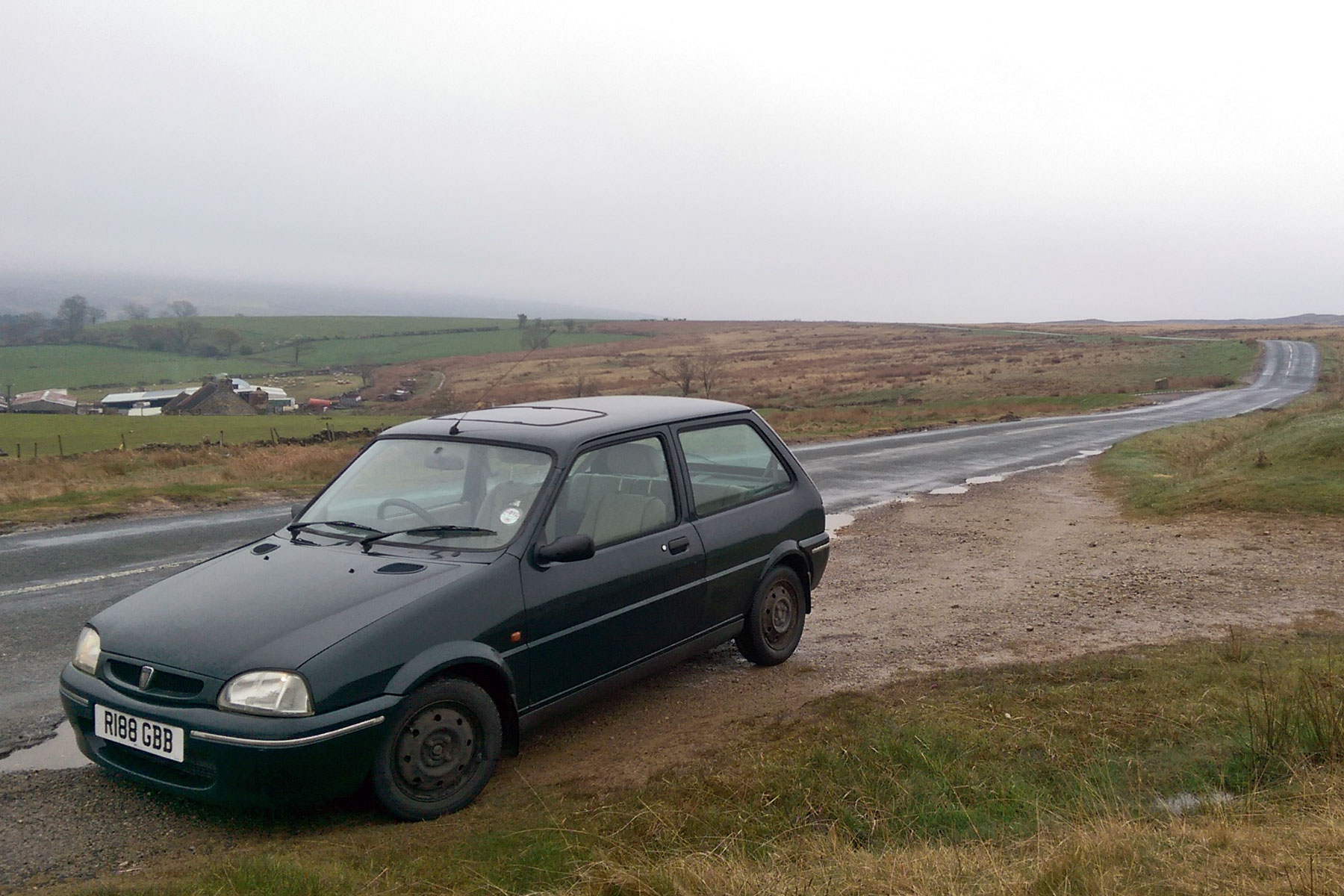 Bored of cars? Drive a Rover 100