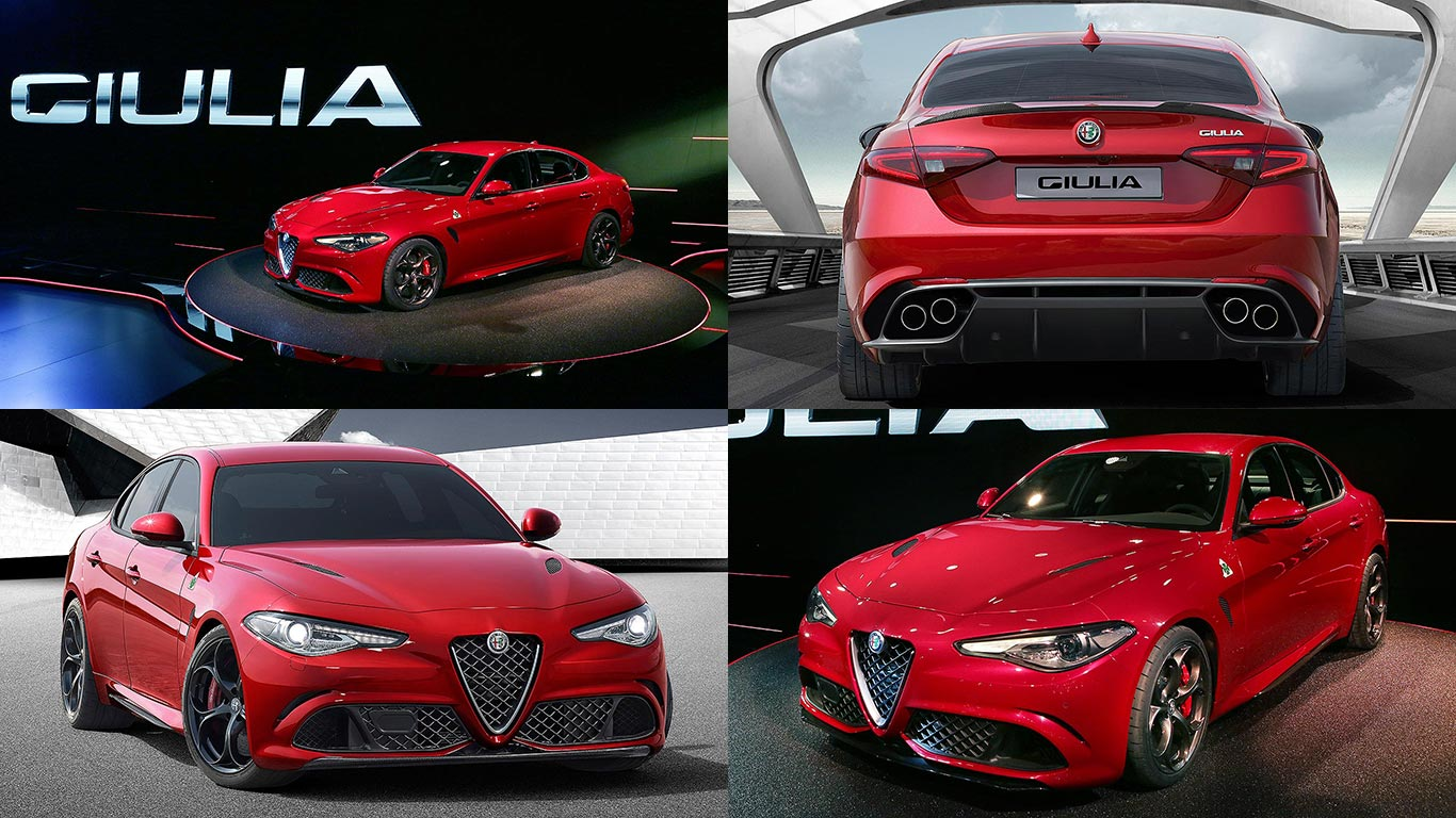 new 2016 alfa romeo giulia revealed alfa s make or break. Black Bedroom Furniture Sets. Home Design Ideas