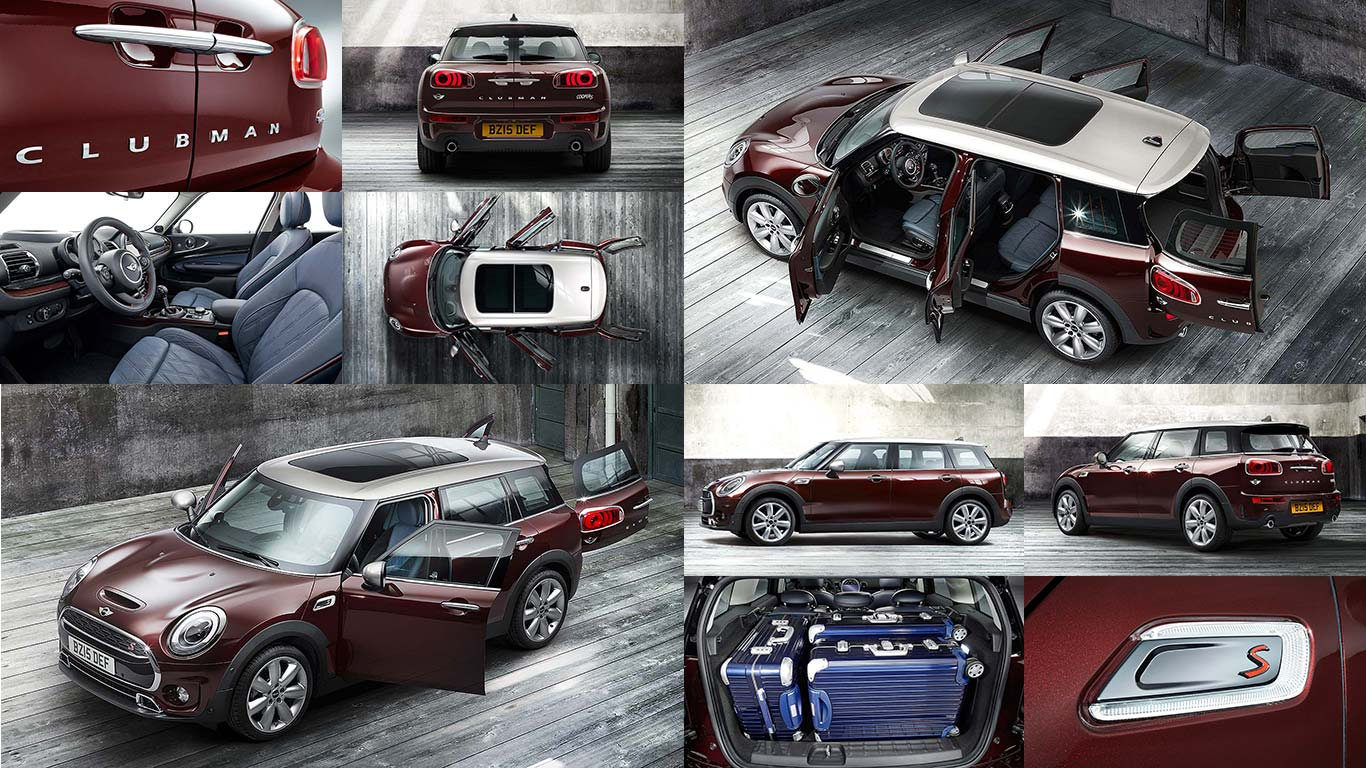 2015 Mini Clubman First Pictures The Six Door Mini Motoring Research