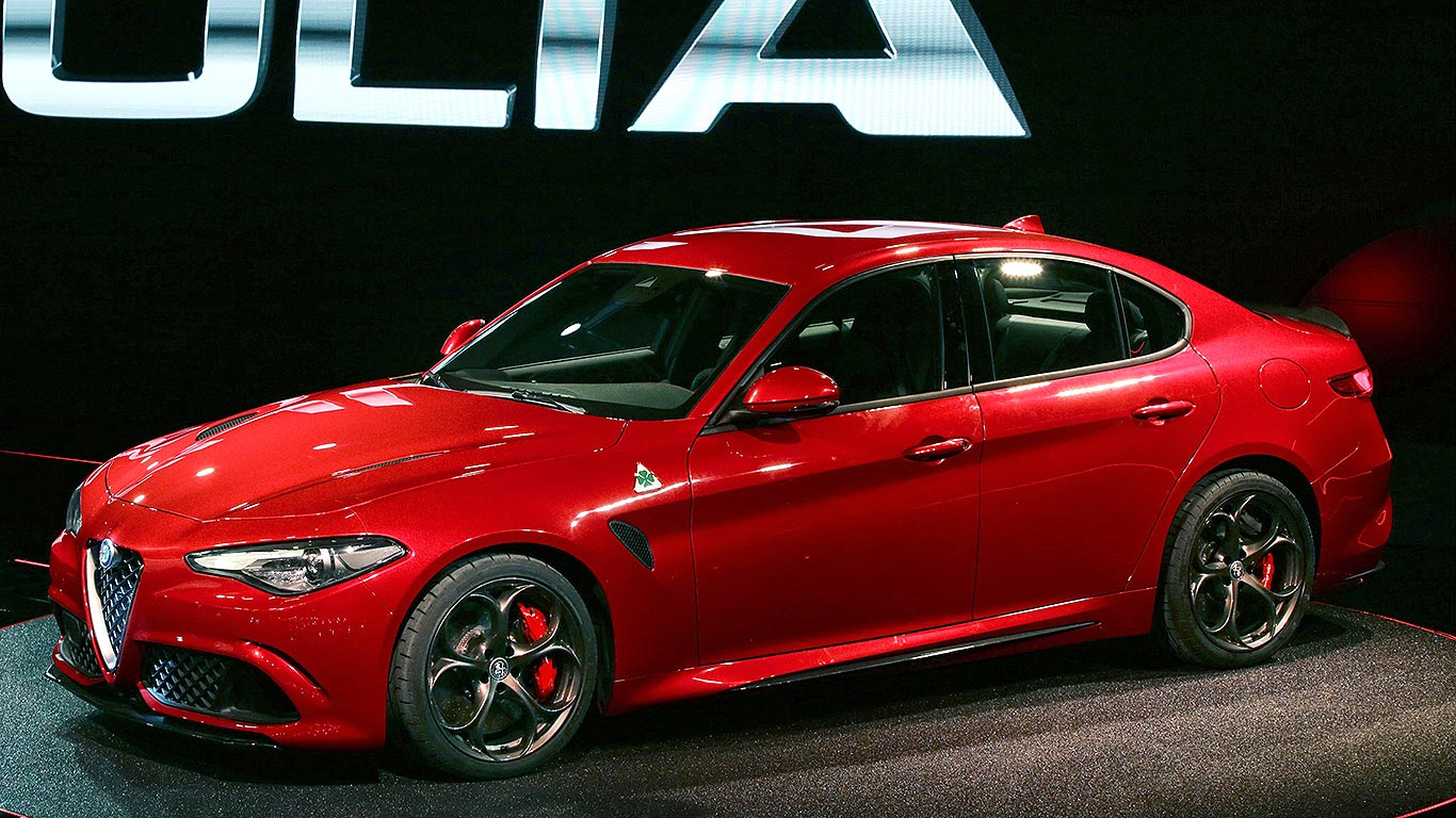 new 2016 alfa romeo giulia revealed alfa s make or break bmw rival motoring research. Black Bedroom Furniture Sets. Home Design Ideas