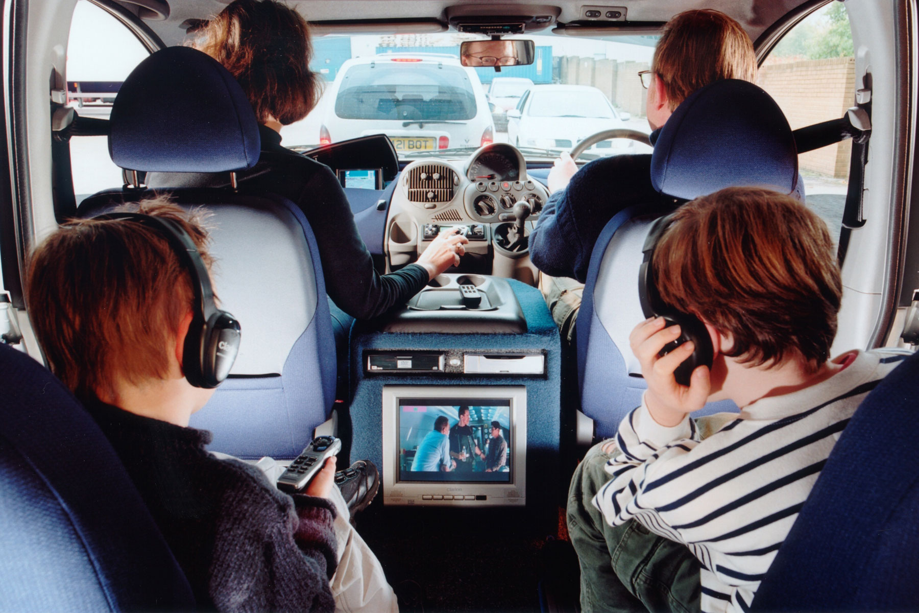 In-car entertainment