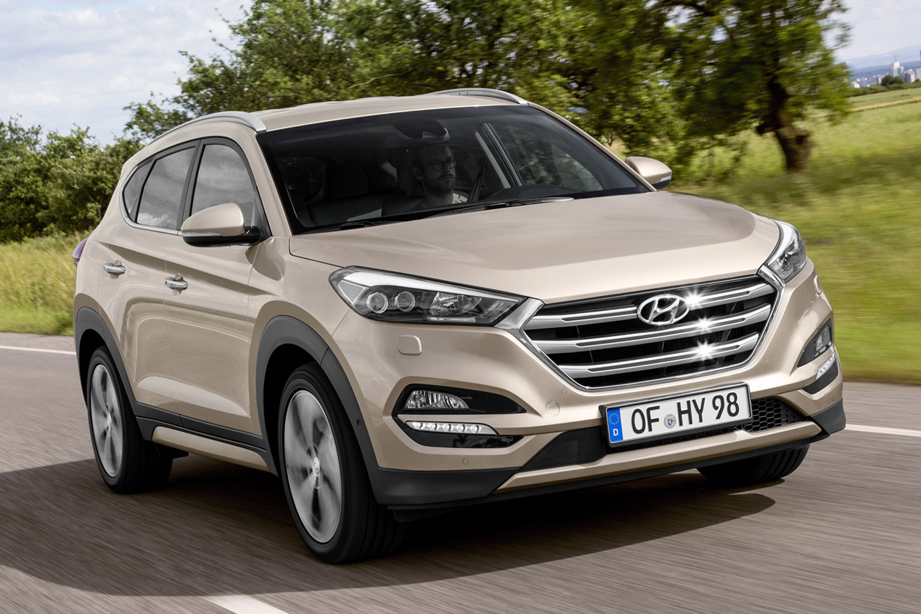 Hyundai Tucson: On the road